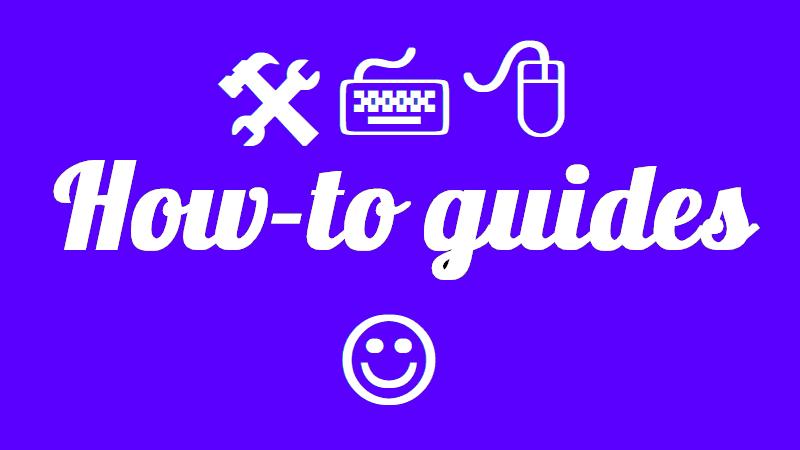 how to guides portfolio image
