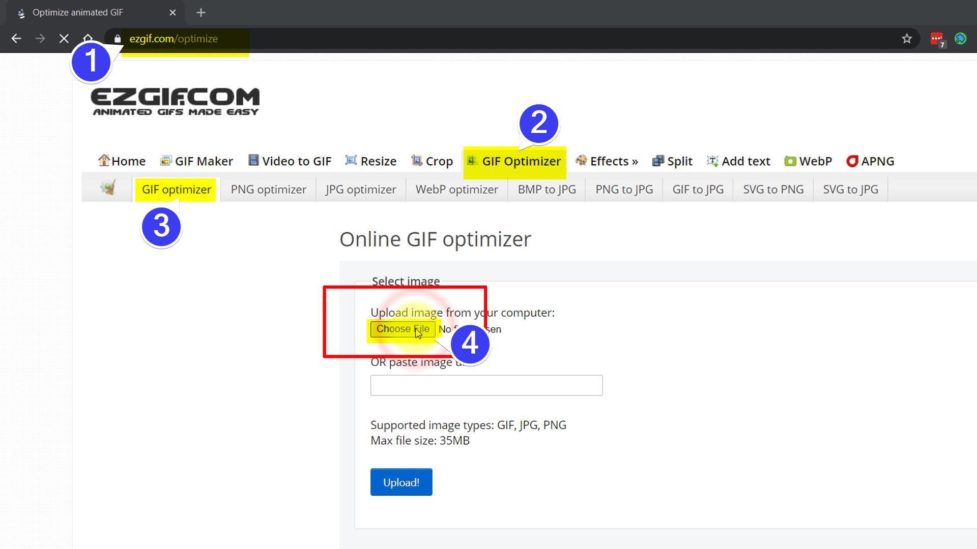 ezgif.com screenshot